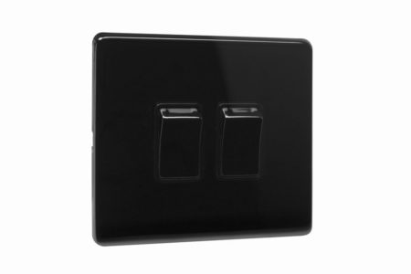 area-two-gang-wall-switch-polished-black-nickel-side-view